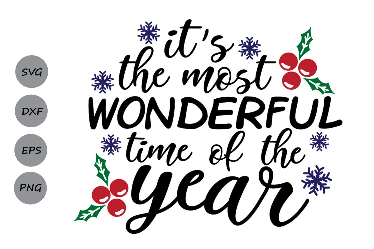 Its the most wonderful time of the year clipart graphic transparent its the most wonderful time of the year svg, christmas svg. graphic transparent