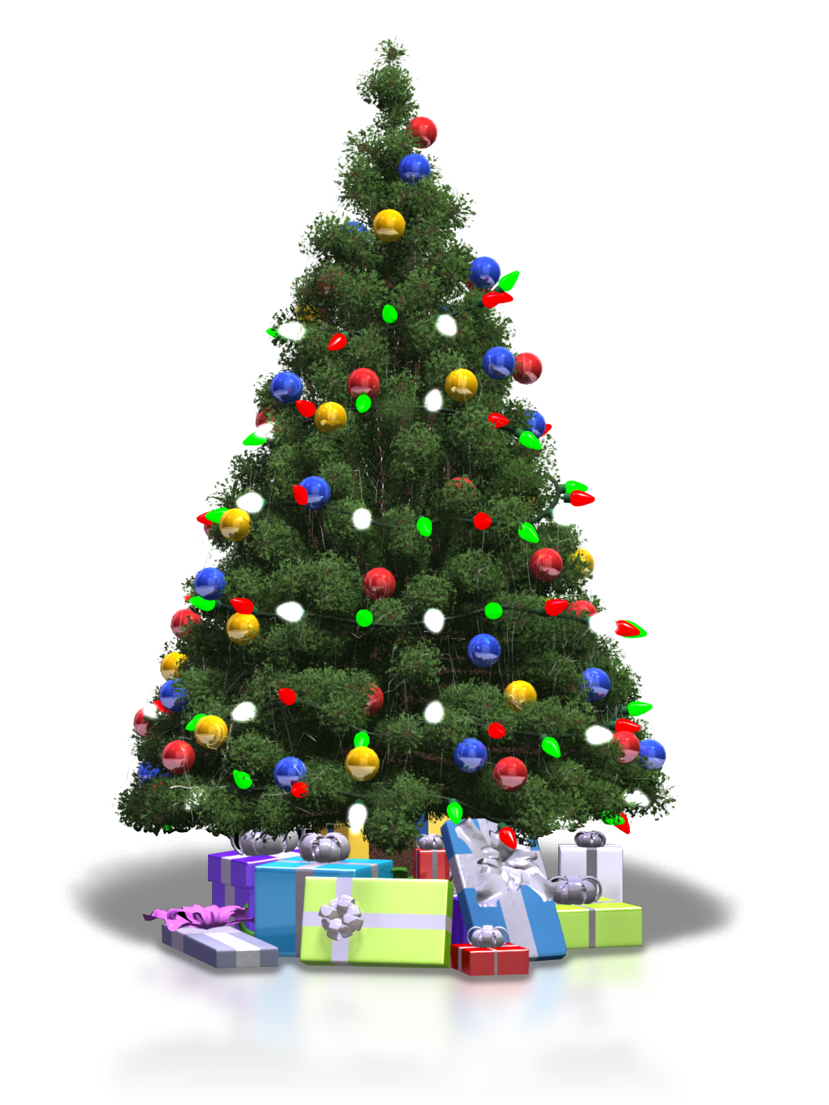 Its time to decorate for the holidays clipart picture black and white Christmas Tree Lights   If you haven\'t already done so, it\'s ... picture black and white