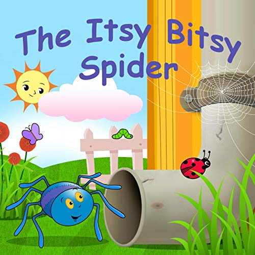 Itsy bitsy clipart transparent stock The Itsy Bitsy Spider by My Digital Touch on Amazon Music ... transparent stock