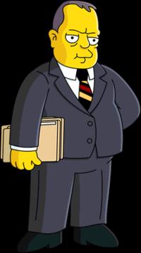 J edgar hoover clipart image black and white J. Edgar Hoover - Wikisimpsons, the Simpsons Wiki image black and white