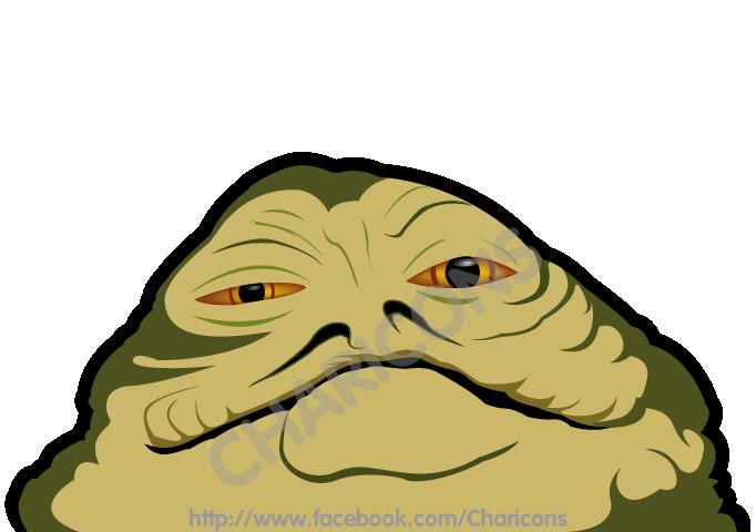 Jabba the hutt star wars clipart clip art download Star Wars - Jabba the Hut Charicon by geekeboy on DeviantArt clip art download