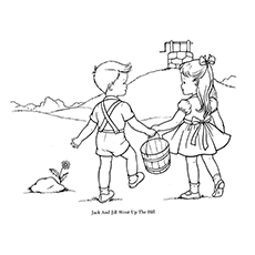 Jack and jill clipart black and white clip art royalty free download Jack And Jill Clipart Black And White clip art royalty free download