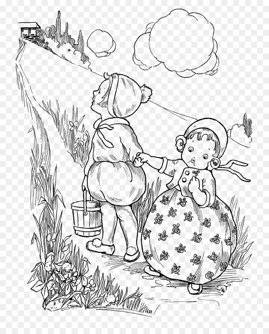 Jack and jill clipart black and white picture royalty free download Book Black And White png download - 1300*1600 - Free ... picture royalty free download