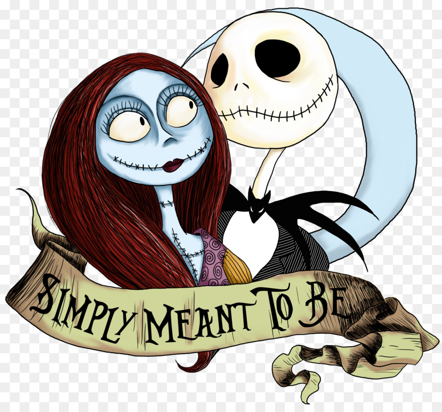 Jack and sally clipart vector transparent The Nightmare Before Christmas clipart - Drawing, Cartoon ... vector transparent
