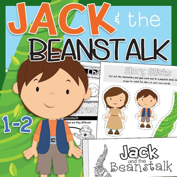Jack and the beanstalk s poor mom free clipart banner free stock Jack & The Beanstalk Literacy Pack banner free stock