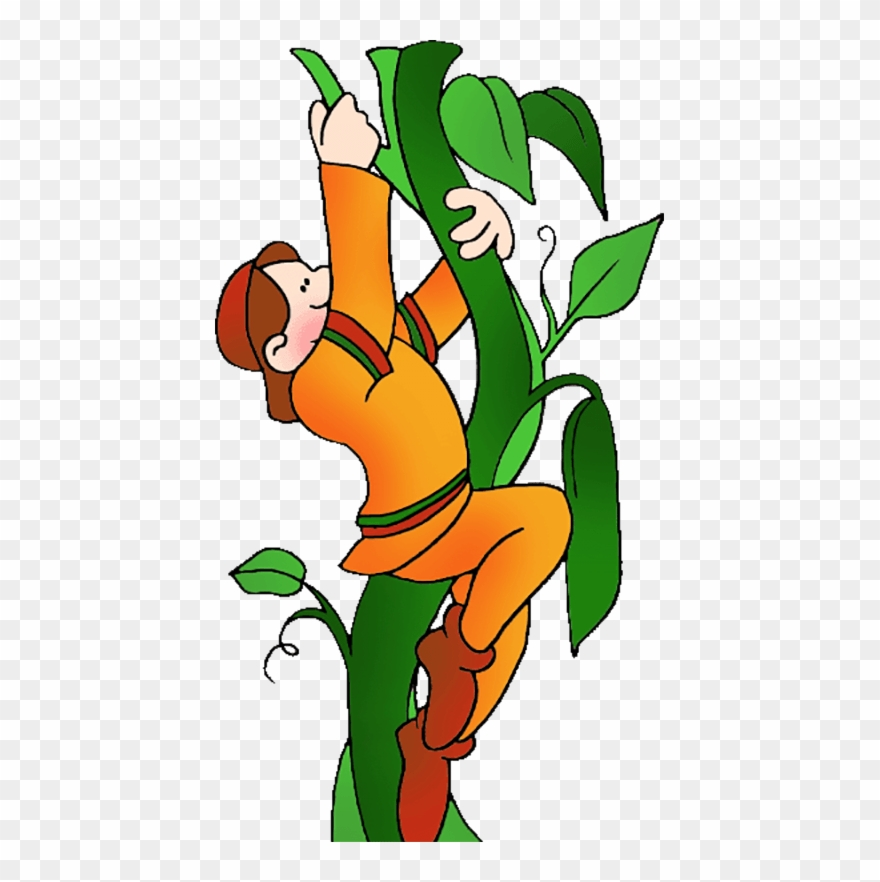 Jack from jack and the beanstalk clipart clip free stock Loam Is - Jack Climbing The Beanstalk Clipart (#535264 ... clip free stock