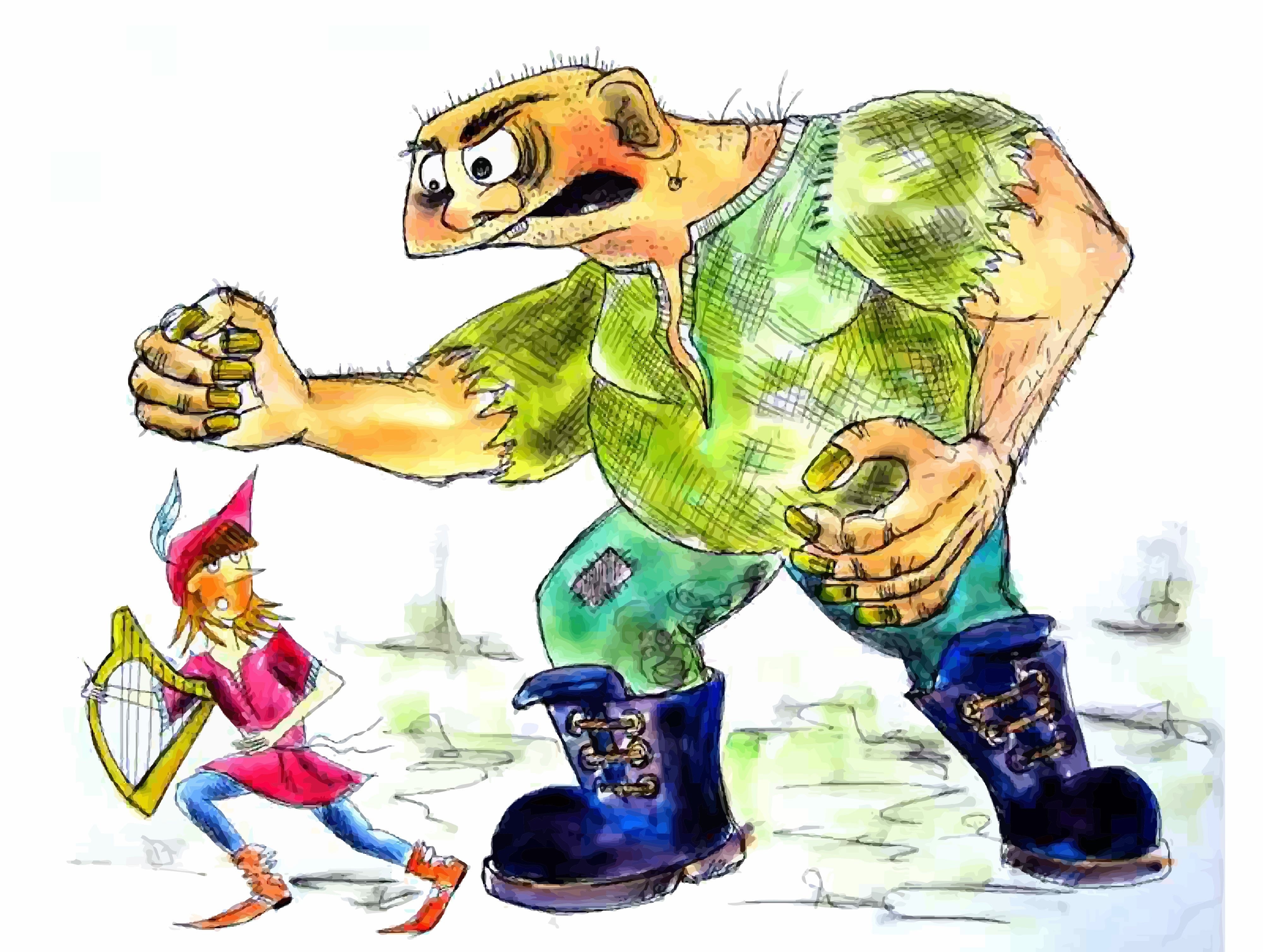 Jack from jack and the beanstalk clipart clipart freeuse Jack and the Beanstalk - Storynory clipart freeuse