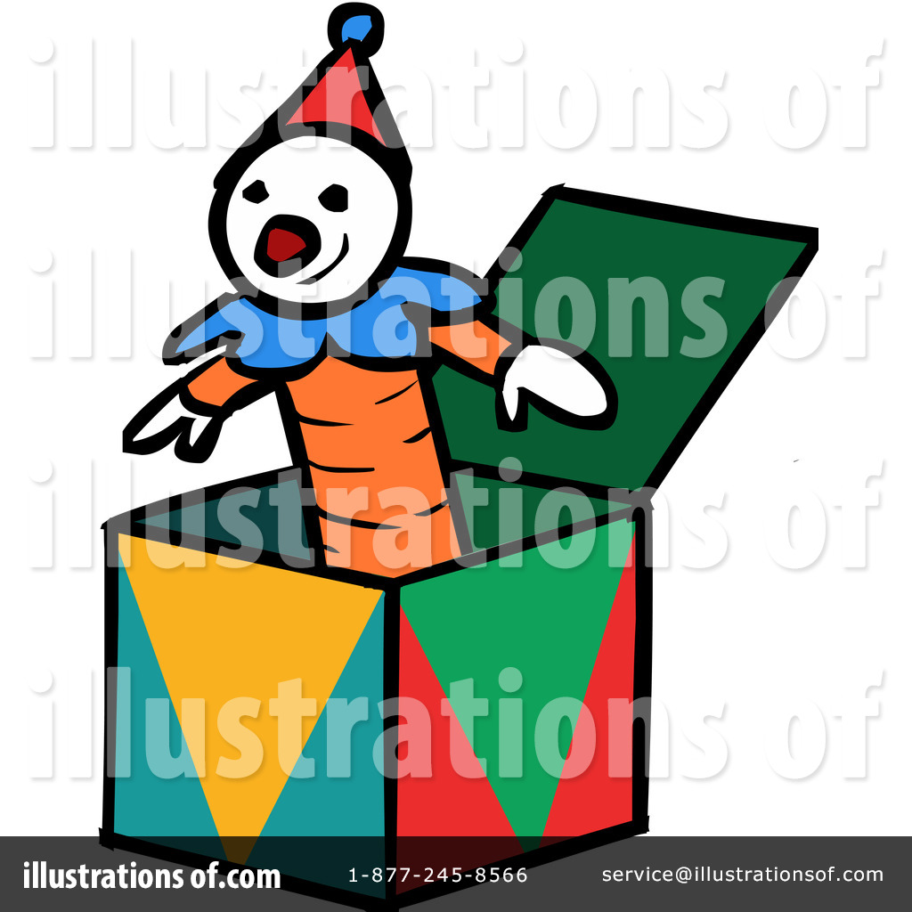 Jack in the box clipart royalty free graphic transparent library Jack In The Box Clipart #1106617 - Illustration by Cartoon ... graphic transparent library