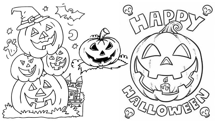 Jack or lanter clipart black and white jpg royalty free library Jack o Lantern Clipart Black and White - Hours TV jpg royalty free library