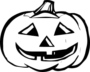 Jack or lanter clipart black and white graphic royalty free library Jack O Lantern Free Jack Lantern Clipart #62163 - PNG Images ... graphic royalty free library