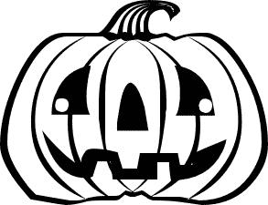Jack o latern black and white clipart freeuse stock Jack o lantern black and white clipart » Clipart Portal freeuse stock