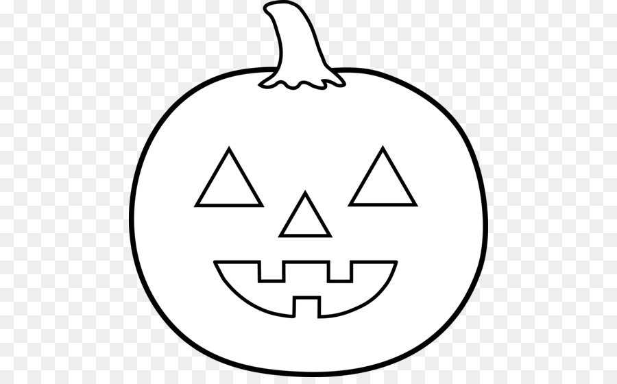 Jack o latern black and white clipart png royalty free Jack-o-lantern Pumpkin Halloween Clip Ar #62153 - PNG Images ... png royalty free