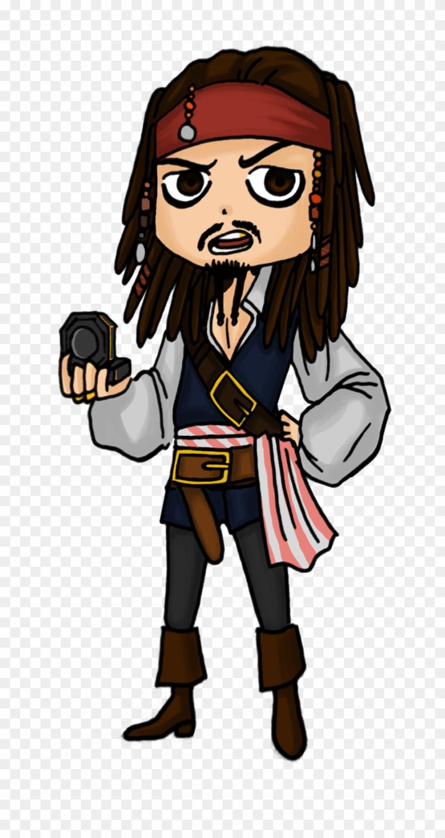Jack sparrow clipart graphic Commission For Artjou Jack Sparrow Clipart (#1952967 ... graphic