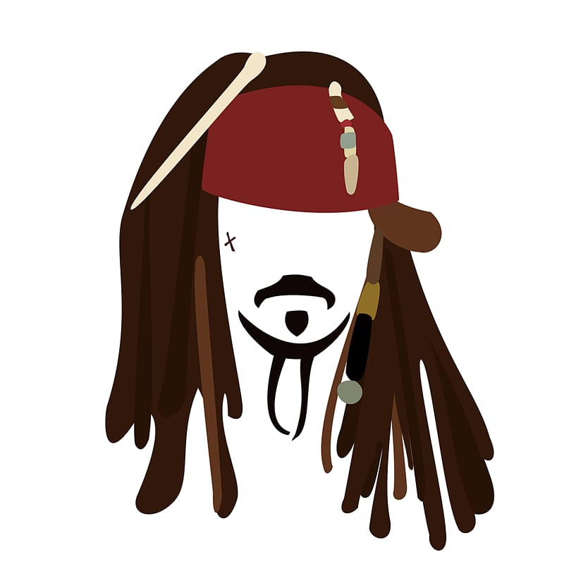 Jack sparrow clipart vector library library Pirates of the Caribbean Jack Sparrow costume, Jack Sparrow ... vector library library