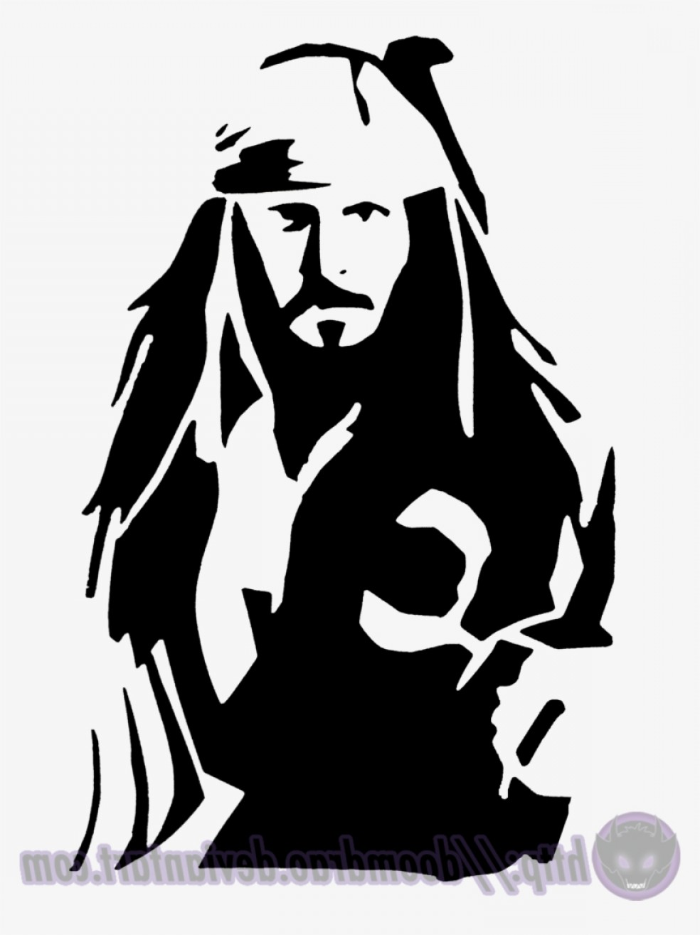 Jack sparrow clipart svg royalty free download Jack Sparrow Vector Logo | CQRecords svg royalty free download
