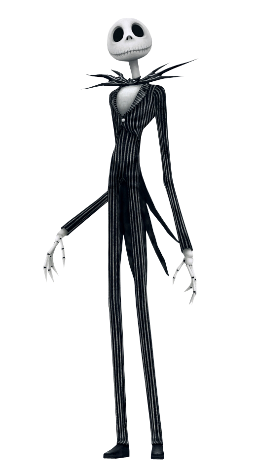 Jack Skellington - Kingdom Hearts Insider jpg black and white