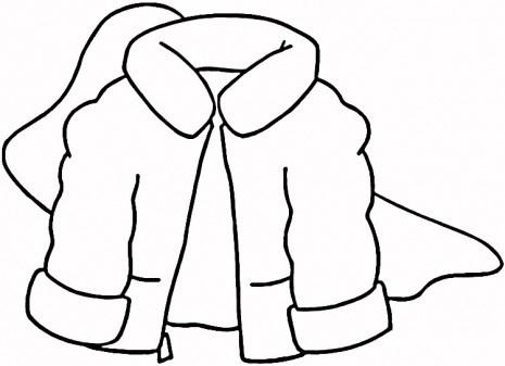 Jacket clipart black and white transparent stock Winter jacket clipart black and white 1 » Clipart Portal transparent stock