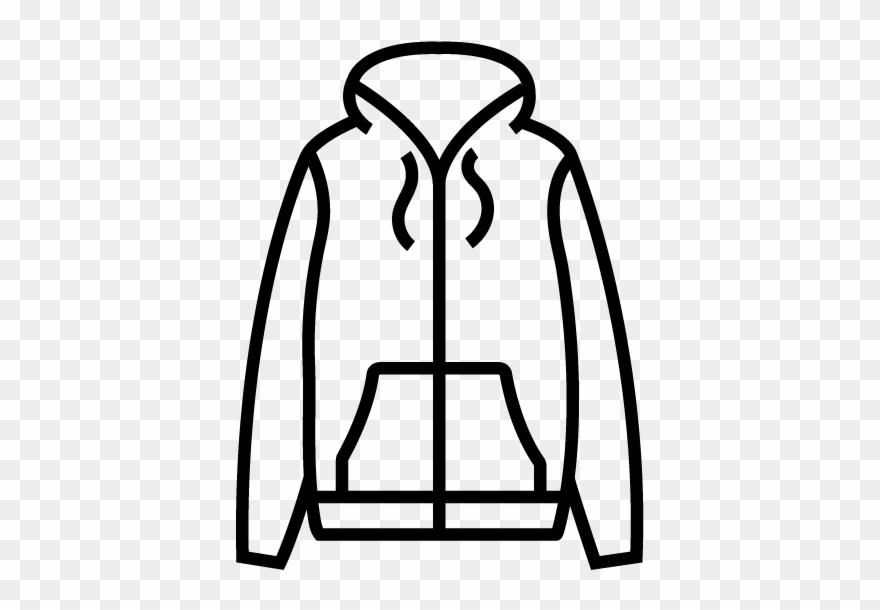 Jacket clipart black and white image transparent library Jackets - Light Jacket Clipart Black And White - Png ... image transparent library