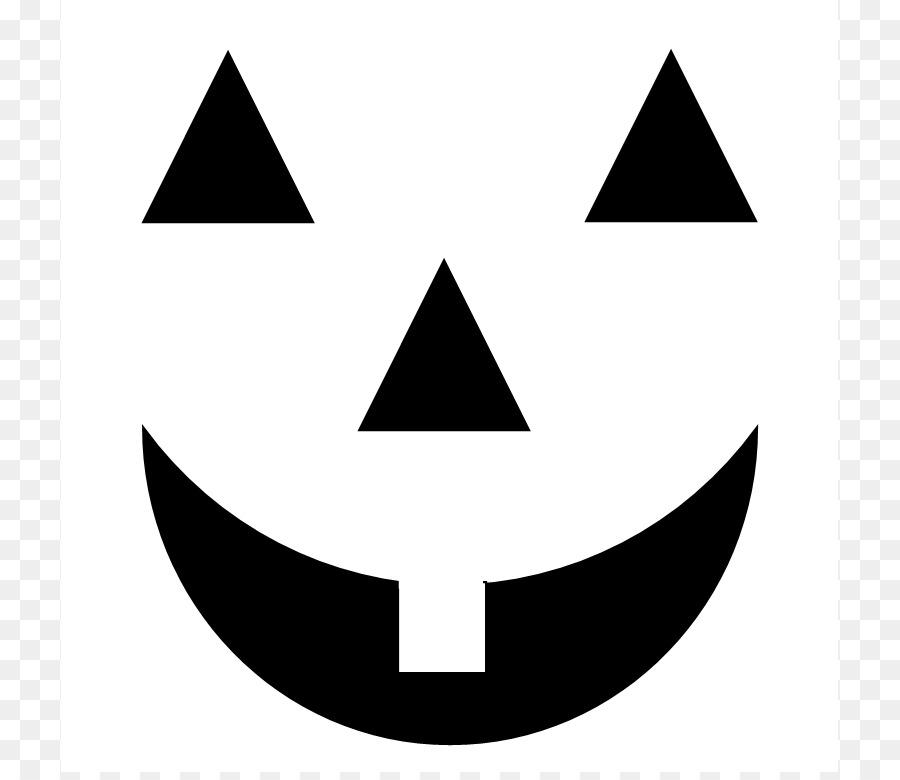 Jackolantern faces clipart banner transparent Halloween Pumpkin Face png download - 777*772 - Free ... banner transparent