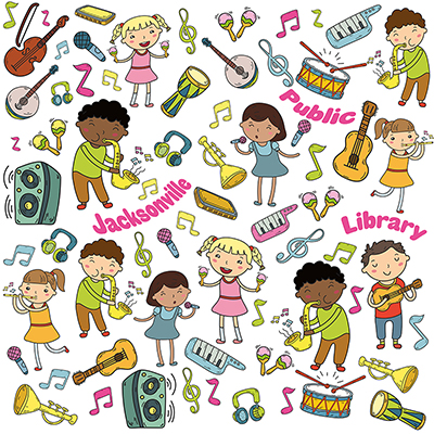 Jacksonville public library clipart graphic royalty free library Young Children: Home Activities | Jacksonville Public Library graphic royalty free library