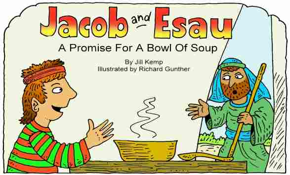 Jacob and esau clipart clip art library download Lambsongs Bible Story Books clip art library download