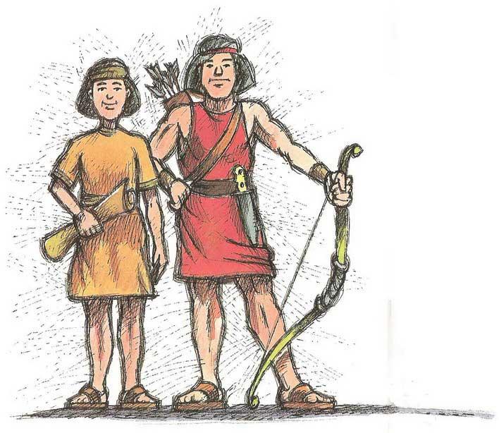 Jacob esau clipart svg library download Bible Story of Jacob and Esau | Child Bible Story Online | Esau ... svg library download