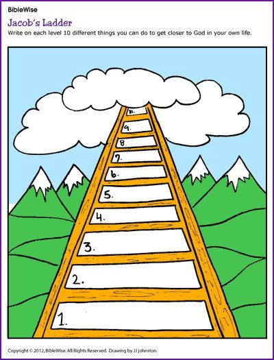 Jacob-s ladder clipart picture library Jacob\'s Ladder Cliparts 7 - 400 X 525 - Making-The-Web.com picture library