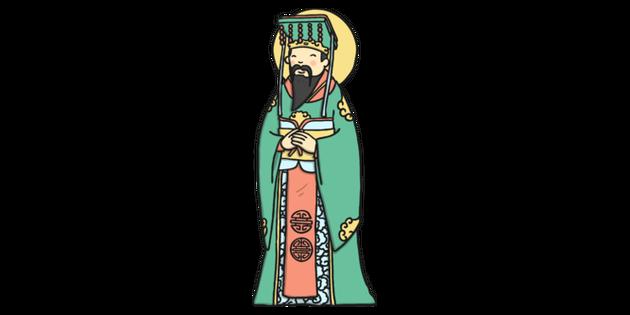 Jade emperor clipart image free download Jade Emperor Standing Illustration - Twinkl image free download