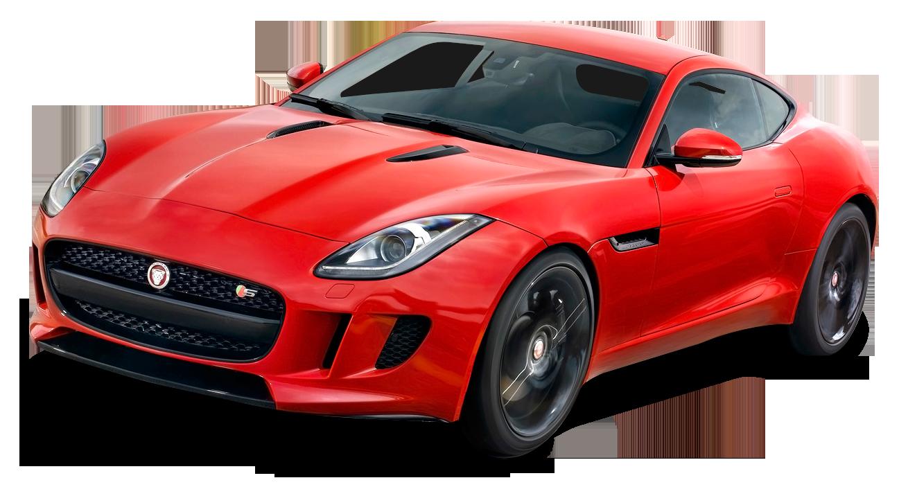 Jaguar car clipart free stock Red Jaguar F Type Coupe Car PNG Image - PurePNG | Free transparent ... free stock