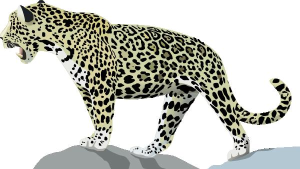 Jaguar cartoon clipart picture transparent library Jaguar 3 Clip Art at Clker.com - vector clip art online ... picture transparent library