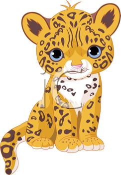 Jaguar cartoon clipart graphic freeuse cartoon baby animals | Royalty Free Wildcats Clip art, Big ... graphic freeuse