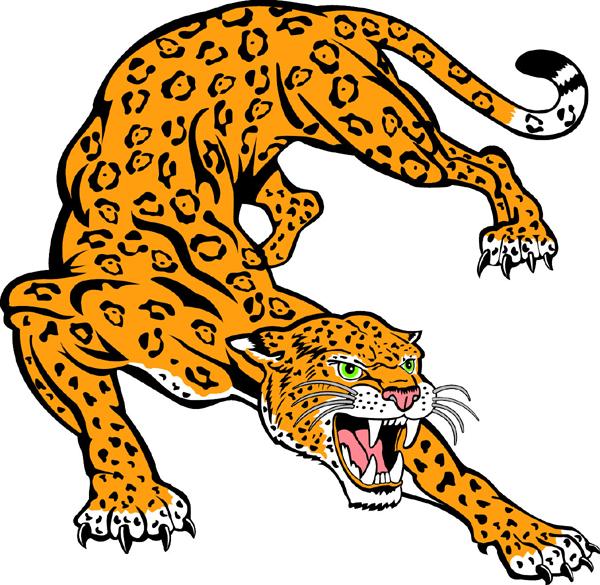 Jaguar clipart vector download Jaguar clipart 2 - WikiClipArt vector download