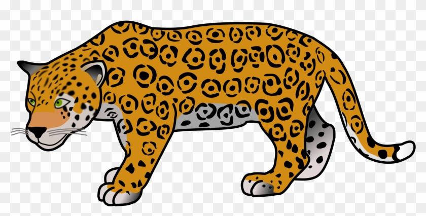 Jaguar clipart transparent vector library Download Free png Jaguar Clipart Jungle Animal Jaguar ... vector library
