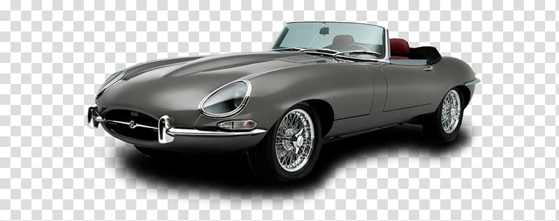 Jaguar e type clipart graphic stock Gray convertible coupe illustration, Grey E Type Jaguar ... graphic stock