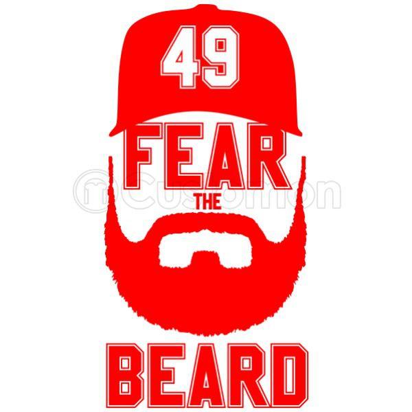Jake arrieta clipart clip art black and white Jake Arrieta Chicago - Fear The Beard Travel Mug - Customon clip art black and white