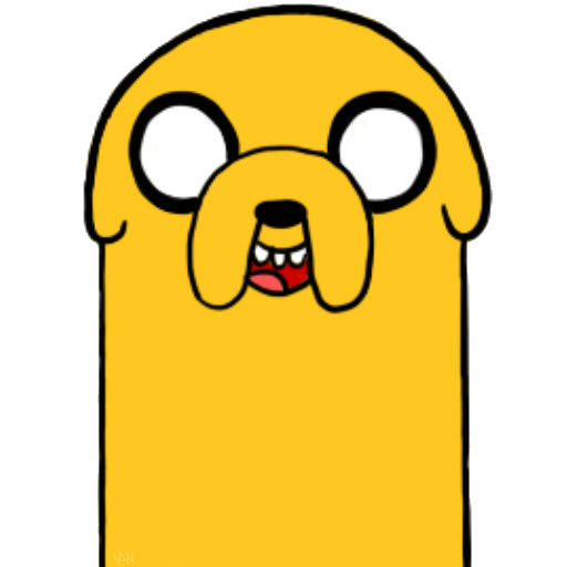Jake the dog clipart clip art Pics Of Jake The Dog - ClipArt Best clip art