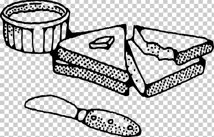 Jam and bread clipart black and white image free download Peanut Butter And Jelly Sandwich Baguette Sliced Bread PNG, Clipart ... image free download