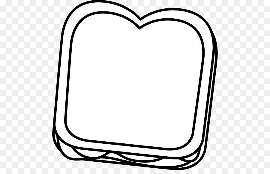 Jam and bread clipart black and white picture library download Banana Clipart Black And White clipart - Hamburger, Sandwich, Bread ... picture library download