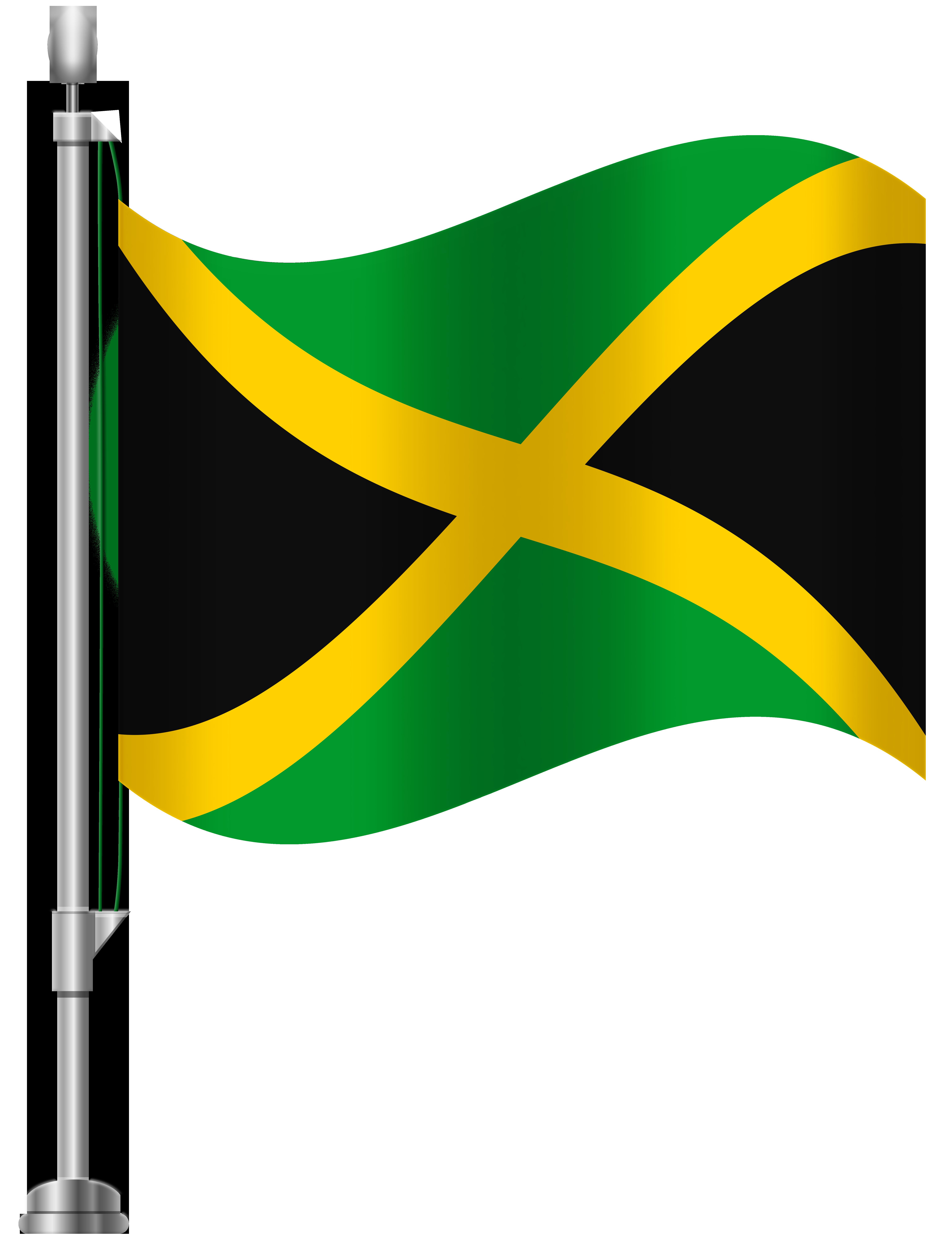 Jamaican images clipart svg transparent library Jamaica Flag PNG Clip Art - Best WEB Clipart svg transparent library