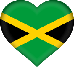 Jamaican images clipart graphic transparent library Jamaica flag clipart - country flags graphic transparent library