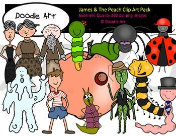 James clipart jpg transparent download James and the Peach Clipart Pack jpg transparent download