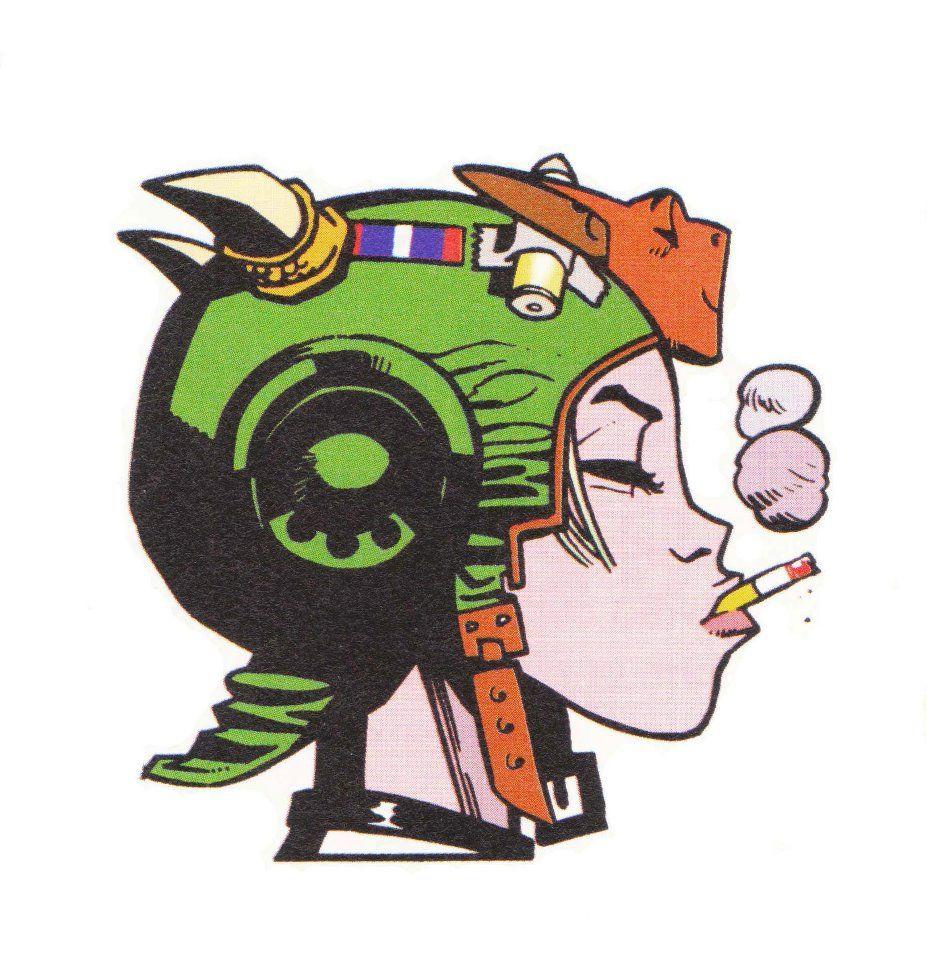 Jamie hewlett clipart svg free download TANK GIRL jamie hewlett | Jamie Hewlett | Tank girl comic, Tank girl ... svg free download