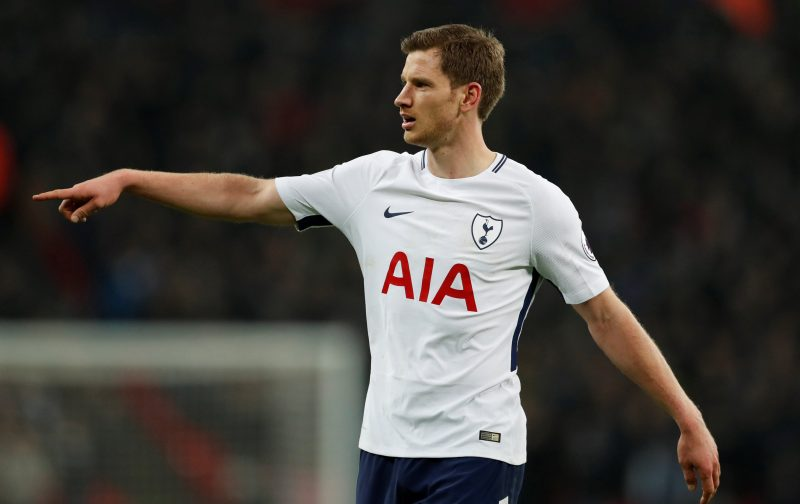 Jan vertonghen clipart banner library stock Report: Leverkusen \'targeting\' Tottenham defender, \'it\'s possible ... banner library stock