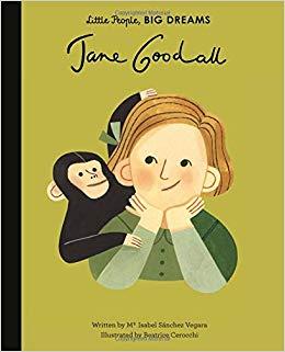 Jane goodall clipart jpg free download Jane Goodall (Little People, BIG DREAMS): Maria Isabel Sanchez ... jpg free download