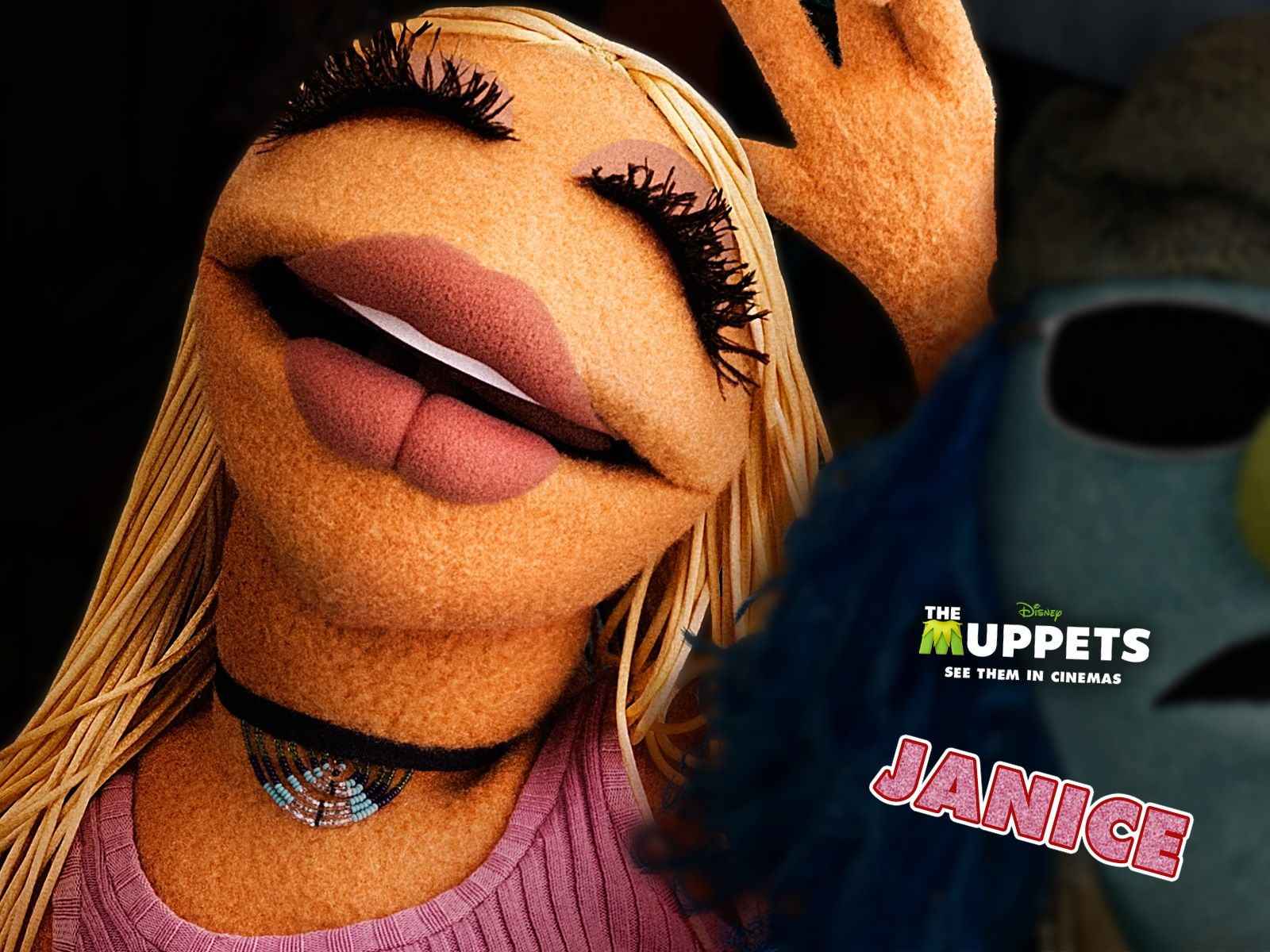 Janice rocker muppet black and white clipart graphic black and white library Janice - The Muppets | Character Design | The muppets characters ... graphic black and white library