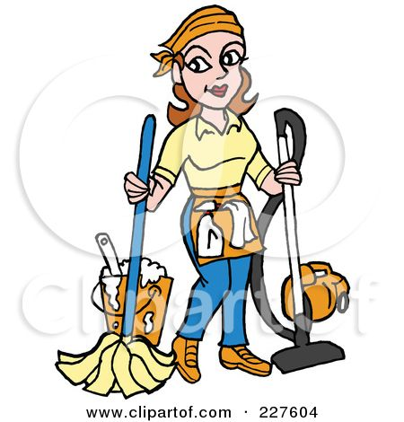 Janitorial clipart images png freeuse download School Janitor Clip Art | Royalty-Free (RF) Clipart Illustration of ... png freeuse download