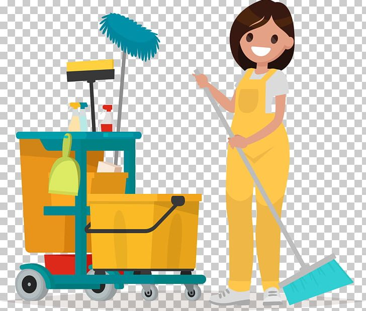 Janitor clipart jpg free stock Janitor Cleaner Maid Service Commercial Cleaning PNG, Clipart ... jpg free stock