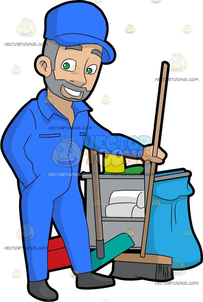 Janitorial clipart images stock Custodian Clipart | Free download best Custodian Clipart on ... stock