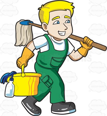Janitorial clipart images picture black and white download Janitorial Clipart | Free download best Janitorial Clipart on ... picture black and white download