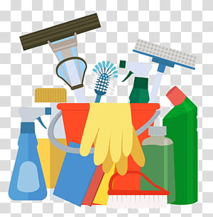 Janitorial supplies clipart image download Blue house illustration, Maid service Cleaner Commercial cleaning ... image download